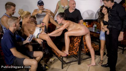Photo number 31 from Dolly Diore's All Out Public Fuckfest  shot for Public Disgrace on Kink.com. Featuring Steve Holmes, Cherry Kiss, RAM, Dolly Diore  and Angel Rush in hardcore BDSM & Fetish porn.