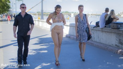 Photo number 3 from Sexy Serbian Submissive Anal Slut Vyvan Hill  shot for Public Disgrace on Kink.com. Featuring Steve Holmes, Cherry Kiss, Vyvan Hill  and Chad Rockwell in hardcore BDSM & Fetish porn.