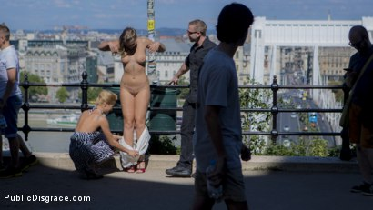 Photo number 5 from Sexy Serbian Submissive Anal Slut Vyvan Hill  shot for Public Disgrace on Kink.com. Featuring Steve Holmes, Cherry Kiss, Vyvan Hill  and Chad Rockwell in hardcore BDSM & Fetish porn.