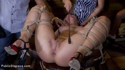 Photo number 27 from Sexy Serbian Submissive Anal Slut Vyvan Hill  shot for Public Disgrace on Kink.com. Featuring Steve Holmes, Cherry Kiss, Vyvan Hill  and Chad Rockwell in hardcore BDSM & Fetish porn.
