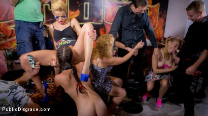 Photo number 9 from 19yo Vyvan Hill & Dolly Diore Stripped Naked in Public & Fucked in Bar shot for Public Disgrace on Kink.com. Featuring Steve Holmes, Dolly Diore , Vyvan Hill , Cherry Kiss and Chad Rockwell in hardcore BDSM & Fetish porn.