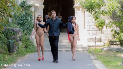 Photo number 2 from 19yo Vyvan Hill & Dolly Diore Stripped Naked in Public & Fucked in Bar shot for Public Disgrace on Kink.com. Featuring Steve Holmes, Dolly Diore , Vyvan Hill , Cherry Kiss and Chad Rockwell in hardcore BDSM & Fetish porn.