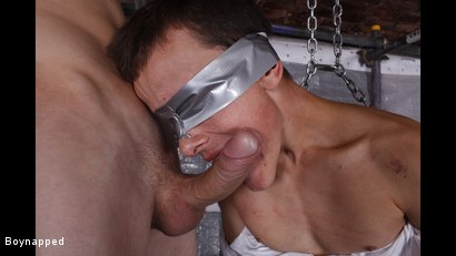 Photo number 12 from New Boy Brodie Wanked And Fed shot for Boynapped on Kink.com. Featuring Brodie Spark and Reece Bentley in hardcore BDSM & Fetish porn.