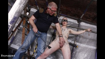 Photo number 15 from A Sensitive Cock Drained shot for Boynapped on Kink.com. Featuring Sebastian Kane and Oliver Wyatt in hardcore BDSM & Fetish porn.