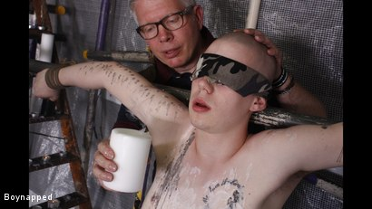 Photo number 6 from A Sensitive Cock Drained shot for Boynapped on Kink.com. Featuring Sebastian Kane and Oliver Wyatt in hardcore BDSM & Fetish porn.