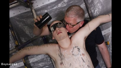 Photo number 7 from A Sensitive Cock Drained shot for Boynapped on Kink.com. Featuring Sebastian Kane and Oliver Wyatt in hardcore BDSM & Fetish porn.