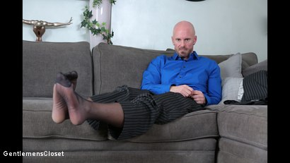 Photo number 3 from Sheer Fuck shot for Gentlemens Closet on Kink.com. Featuring Mitch Vaughn and Kory Houston in hardcore BDSM & Fetish porn.