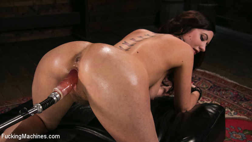Fetish Queen Cherry Torn Fucked with Huge Dildos and Multiple Orgasms