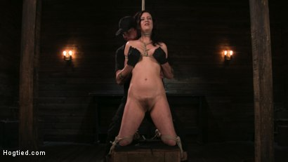 Photo number 1 from Bound Slave Cherry Torn Tormented in Rope Bondage and Multiple Orgasms shot for Hogtied on Kink.com. Featuring Cherry Torn and The Pope in hardcore BDSM & Fetish porn.
