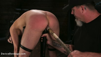 Photo number 16 from Female Slave Cherry Torn Tormented in Metal Bondage and Coerced Orgasm shot for Device Bondage on Kink.com. Featuring Cherry Torn and The Pope in hardcore BDSM & Fetish porn.