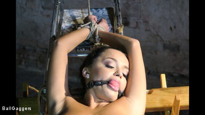 Photo number 12 from Daphne Klyde Ballgagged And Penetrated With A Big Dildo shot for Ball Gaggers on Kink.com. Featuring Ar and Daphne Klyde in hardcore BDSM & Fetish porn.
