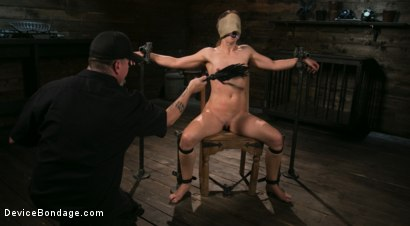Photo number 1 from Cheyenne Jewel Punished with Unwilling Orgasms and Mean Metal Bondage! shot for Device Bondage on Kink.com. Featuring Cheyenne Jewel and The Pope in hardcore BDSM & Fetish porn.