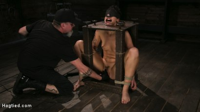Photo number 5 from Pain Slut Lilith Luxe Cums Relentlessly from Torment and Rope Bondage! shot for Hogtied on Kink.com. Featuring Lilith Luxe and The Pope in hardcore BDSM & Fetish porn.