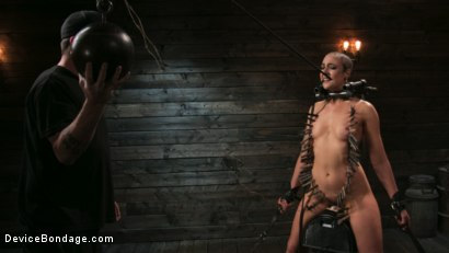 Photo number 10 from Sex Slave Lilith Luxe Humiliated with Head Shaving and Coerced Orgasms shot for Device Bondage on Kink.com. Featuring Lilith Luxe and The Pope in hardcore BDSM & Fetish porn.