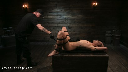 Photo number 15 from Sex Slave Lilith Luxe Humiliated with Head Shaving and Coerced Orgasms shot for Device Bondage on Kink.com. Featuring Lilith Luxe and The Pope in hardcore BDSM & Fetish porn.