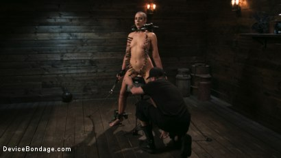 Photo number 7 from Sex Slave Lilith Luxe Humiliated with Head Shaving and Coerced Orgasms shot for Device Bondage on Kink.com. Featuring Lilith Luxe and The Pope in hardcore BDSM & Fetish porn.