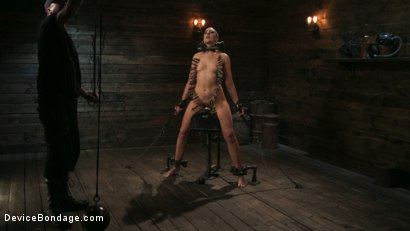 Photo number 9 from Sex Slave Lilith Luxe Humiliated with Head Shaving and Coerced Orgasms shot for Device Bondage on Kink.com. Featuring Lilith Luxe and The Pope in hardcore BDSM & Fetish porn.