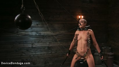 Photo number 11 from Sex Slave Lilith Luxe Humiliated with Head Shaving and Coerced Orgasms shot for Device Bondage on Kink.com. Featuring Lilith Luxe and The Pope in hardcore BDSM & Fetish porn.
