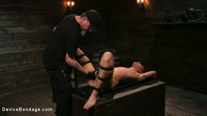 Photo number 17 from Sex Slave Lilith Luxe Humiliated with Head Shaving and Coerced Orgasms shot for Device Bondage on Kink.com. Featuring Lilith Luxe and The Pope in hardcore BDSM & Fetish porn.