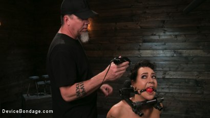 Photo number 1 from Sex Slave Lilith Luxe Humiliated with Head Shaving and Coerced Orgasms shot for Device Bondage on Kink.com. Featuring Lilith Luxe and The Pope in hardcore BDSM & Fetish porn.