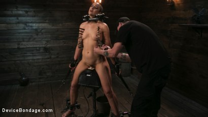 Photo number 6 from Sex Slave Lilith Luxe Humiliated with Head Shaving and Coerced Orgasms shot for Device Bondage on Kink.com. Featuring Lilith Luxe and The Pope in hardcore BDSM & Fetish porn.
