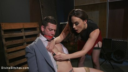 Photo number 2 from Chanel Preston Takes Payment From Reed Jameson in Painful Installments shot for Divine Bitches on Kink.com. Featuring Chanel Preston and Reed Jameson in hardcore BDSM & Fetish porn.