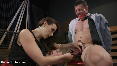 Photo number 7 from Chanel Preston Takes Payment From Reed Jameson in Painful Installments shot for Divine Bitches on Kink.com. Featuring Chanel Preston and Reed Jameson in hardcore BDSM & Fetish porn.