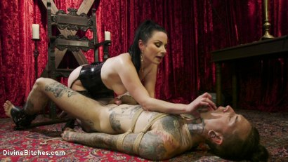 Photo number 12 from Disobedient Masturbating Slave Punished and Fucked with a Fat Cock  shot for Divine Bitches on Kink.com. Featuring Veruca James and Ruckus in hardcore BDSM & Fetish porn.
