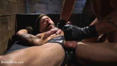 Photo number 12 from Submissive Stud Casey Everett gets Tied Up and Machine Fucked by a God shot for Bound Gods on Kink.com. Featuring Dominic Pacifico and Casey Everett in hardcore BDSM & Fetish porn.