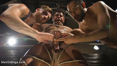 Photo number 15 from Muscle Stud Draven Navarro Gets His Big Cock Sucked and Edged shot for Men On Edge on Kink.com. Featuring Draven Navarro in hardcore BDSM & Fetish porn.