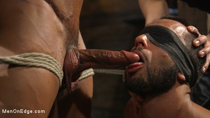 Photo number 6 from Muscle Stud Draven Navarro Gets His Big Cock Sucked and Edged shot for Men On Edge on Kink.com. Featuring Draven Navarro in hardcore BDSM & Fetish porn.