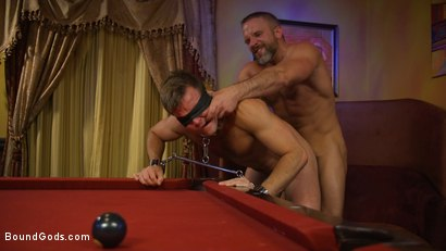 Photo number 7 from Hungry Daddy Fucks Younger Muscled Pain Slut shot for Bound Gods on Kink.com. Featuring Dirk Caber and Connor Patricks in hardcore BDSM & Fetish porn.