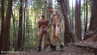 Photo number 11 from Deep Woods Domination: Chapter 1 shot for Bound Gods on Kink.com. Featuring Jonah Fontana and Christian Wilde in hardcore BDSM & Fetish porn.