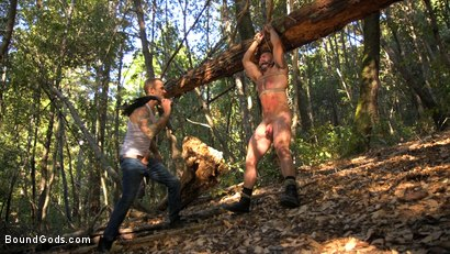 Photo number 4 from Deep Woods Domination: Chapter 1 shot for Bound Gods on Kink.com. Featuring Jonah Fontana and Christian Wilde in hardcore BDSM & Fetish porn.
