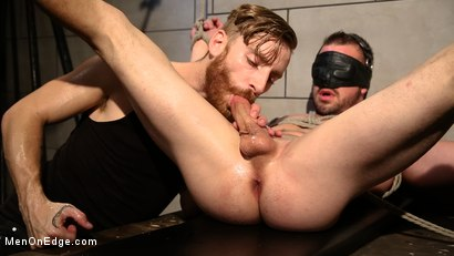 Photo number 1 from Straight Beefcake Stud Gets Edged  shot for Men On Edge on Kink.com. Featuring Darin Silvers in hardcore BDSM & Fetish porn.