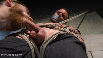 Photo number 8 from Straight Beefcake Stud Gets Edged  shot for Men On Edge on Kink.com. Featuring Darin Silvers in hardcore BDSM & Fetish porn.