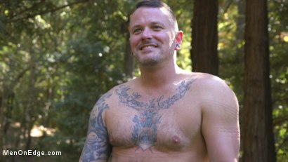 Photo number 19 from Hard Woods: Max Cameron Suspended and Tormented in California Redwoods shot for Men On Edge on Kink.com. Featuring Max Cameron in hardcore BDSM & Fetish porn.
