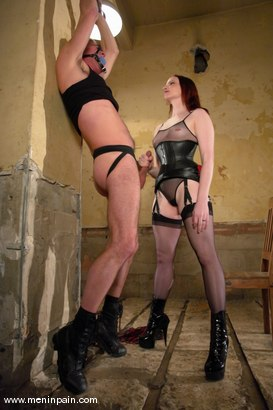 Photo number 4 from Claire Adams and Wild Bill shot for Men In Pain on Kink.com. Featuring Claire Adams and Wild Bill in hardcore BDSM & Fetish porn.