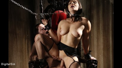 Photo number 12 from Only He Can Tell Her When To Cum shot for Digital Sin on Kink.com. Featuring Lea Lexis and James Deen in hardcore BDSM & Fetish porn.
