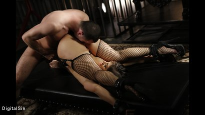 Photo number 7 from Only He Can Tell Her When To Cum shot for Digital Sin on Kink.com. Featuring Lea Lexis and James Deen in hardcore BDSM & Fetish porn.