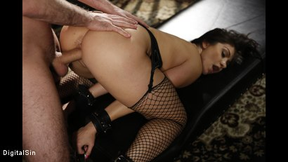 Photo number 9 from Only He Can Tell Her When To Cum shot for Digital Sin on Kink.com. Featuring Lea Lexis and James Deen in hardcore BDSM & Fetish porn.
