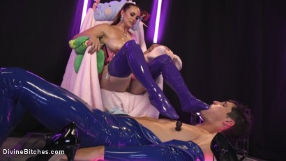 Photo number 6 from Sweet Sadism: Plastic Princess Torments Her Toy shot for Divine Bitches on Kink.com. Featuring Bella Rossi and Tony Orlando in hardcore BDSM & Fetish porn.