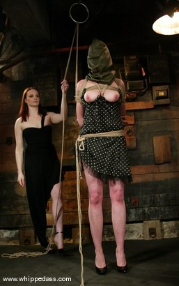 Photo number 2 from Claire Adams and Rozen Debowe shot for Whipped Ass on Kink.com. Featuring Claire Adams and Rozen Debowe in hardcore BDSM & Fetish porn.