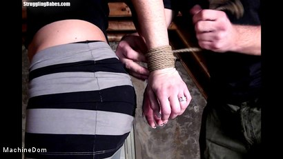 Photo number 1 from Ballgagged, Whipped, And Machine-Fucked By Her Master shot for Machine Dom on Kink.com. Featuring Ally and Ar in hardcore BDSM & Fetish porn.