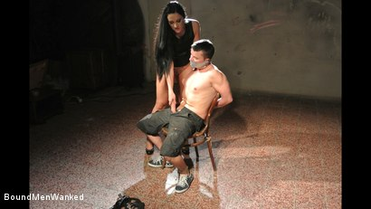 Photo number 16 from Bound Man Endures Clair's Deviances shot for Bound Men Wanked on Kink.com. Featuring Clair Brooks and Richy in hardcore BDSM & Fetish porn.