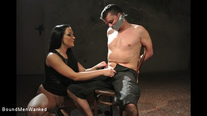Photo number 8 from Bound Man Endures Clair's Deviances shot for Bound Men Wanked on Kink.com. Featuring Clair Brooks and Richy in hardcore BDSM & Fetish porn.