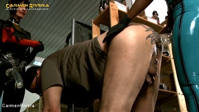 Photo number 8 from Dildo Shopping Queens: Chapter One shot for Carmen Rivera on Kink.com. Featuring Carmen Rivera, Lady Sahara and Franky in hardcore BDSM & Fetish porn.
