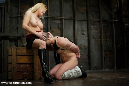 Photo number 5 from Jesse and Anthony shot for TS Seduction on Kink.com. Featuring Jesse and Anthony in hardcore BDSM & Fetish porn.