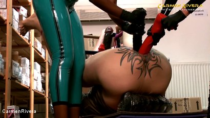 Photo number 5 from Dildo Shopping Queens: Chapter Two shot for Carmen Rivera on Kink.com. Featuring Carmen Rivera, Lady Sahara and Franky in hardcore BDSM & Fetish porn.