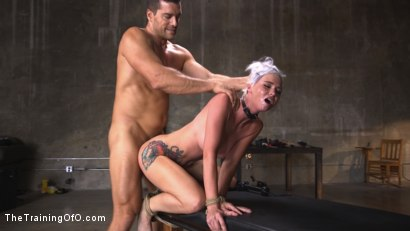 Photo number 13 from Sex Slave Astrid Star Submits to Rope Bondage and Extreme Fucking! shot for The Training Of O on Kink.com. Featuring Ramon Nomar and Astrid Star in hardcore BDSM & Fetish porn.